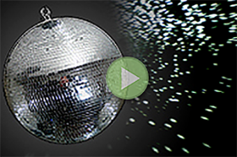 CHAUVET-MIRROR BALL